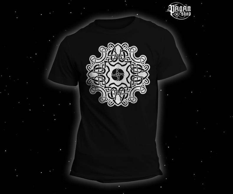 Triko Keltský vzor černé