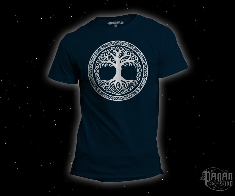 T-shirt Tree of life dark blue