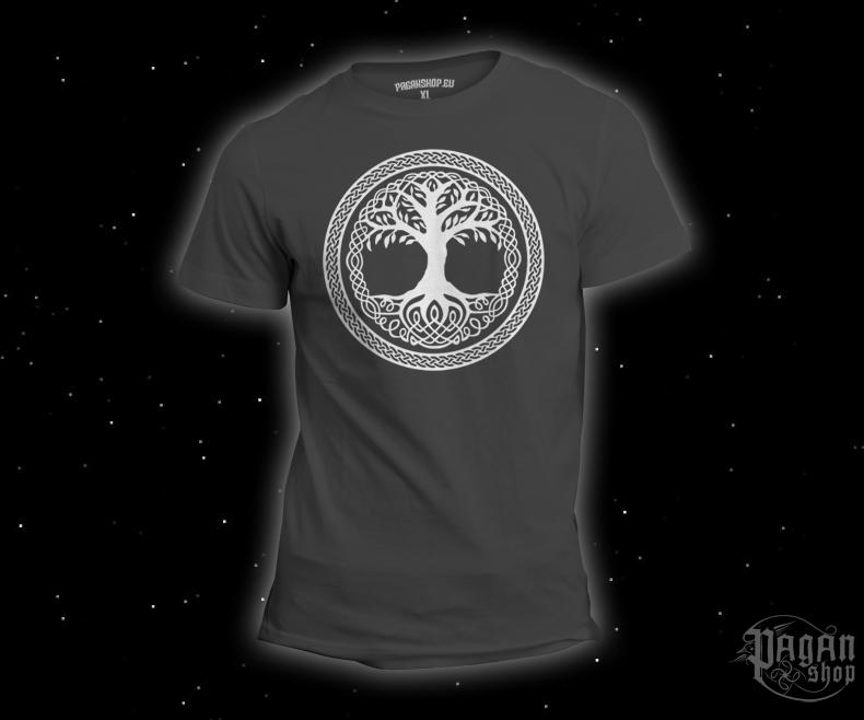 T-shirt Tree of life grey