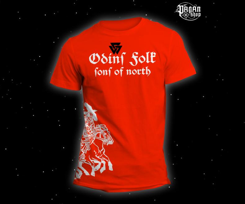 Triko Odin's Folk oranžové