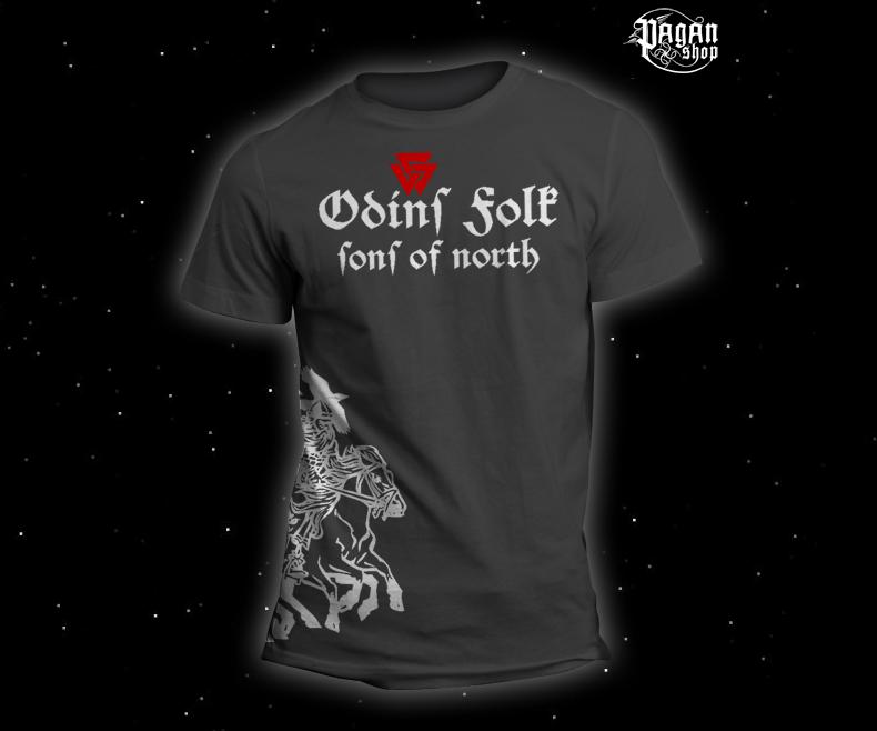 Triko Odin's Folk šedé