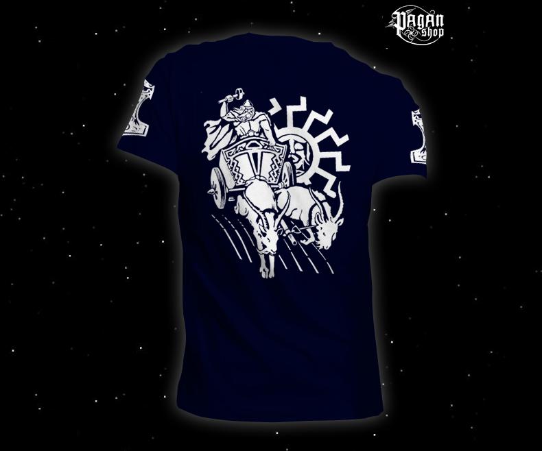 Triko Pagan Hammer tmavě modré
