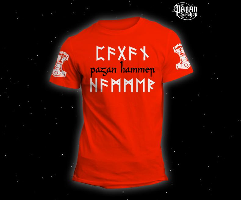 Triko Pagan Hammer oranžové