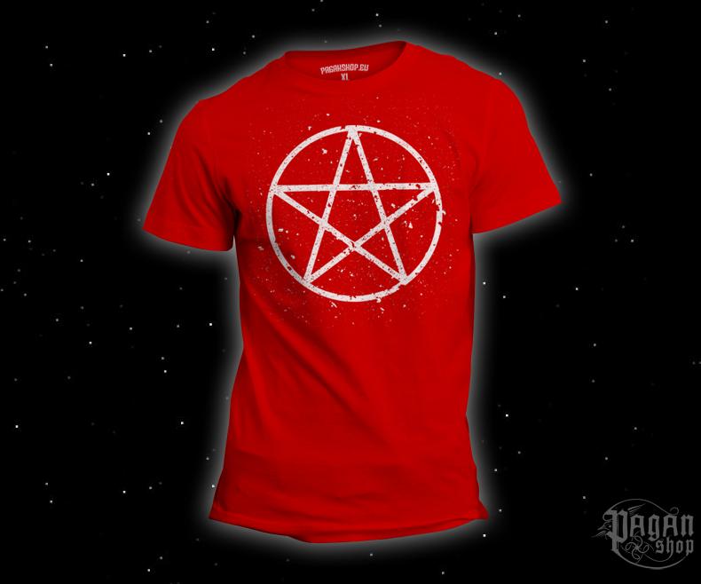 Triko Pentagram červené