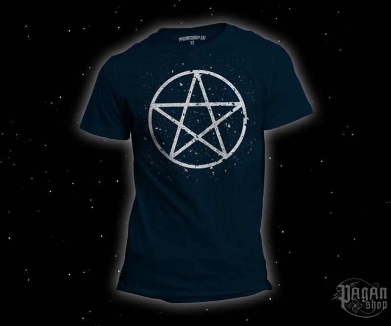 Triko Pentagram tmavě modré
