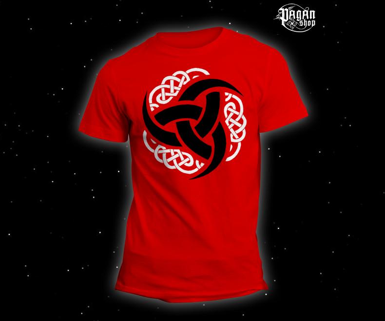 Triko Triple horn červené