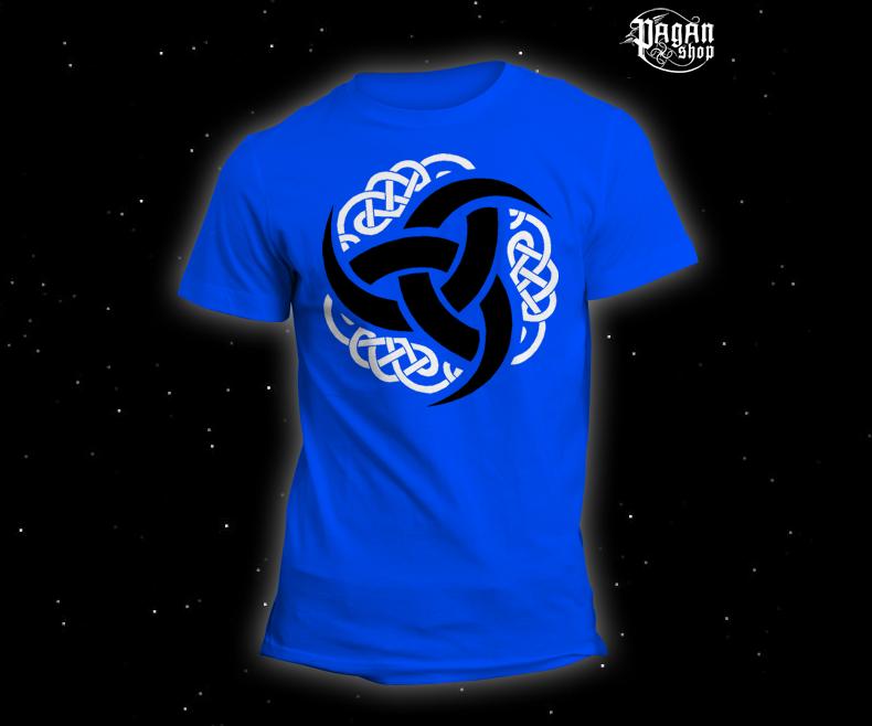 Triko Triple horn světle modré