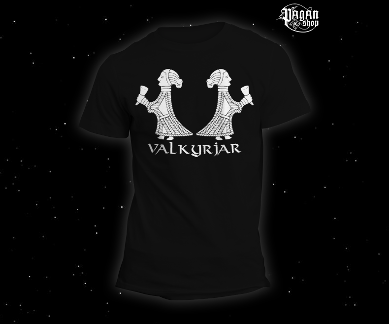 Triko Valkyrjar černé