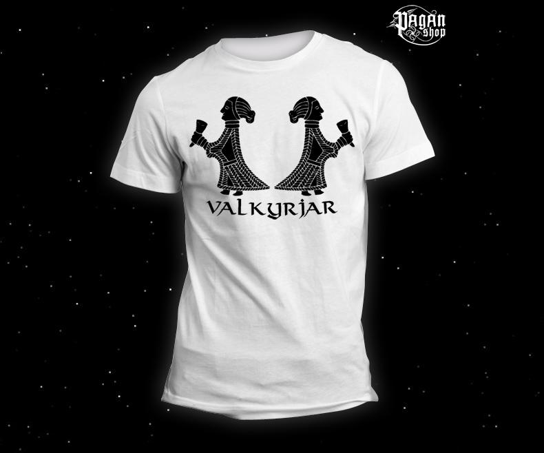 Triko Valkyrjar bílé