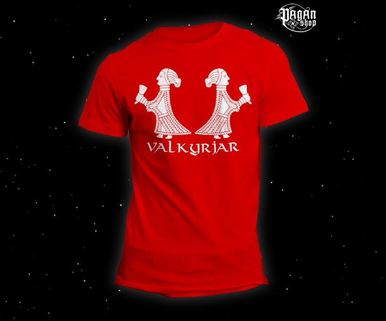 Triko Valkyrjar červené