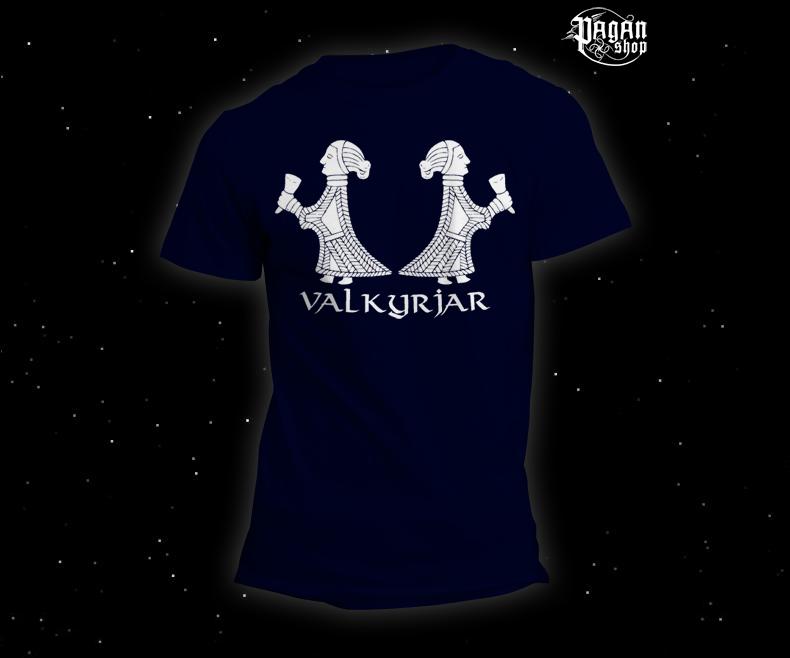 Triko Valkyrjar tmavě modré