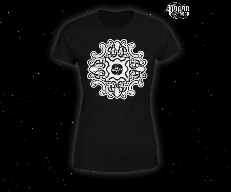 Women's T-shirt Celtic pattern