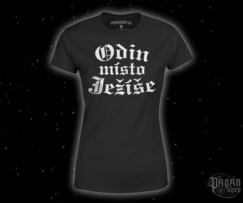 Dámské triko Odin místo Ježíše