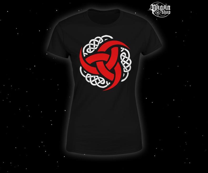 Women's T-shirt Triple horn