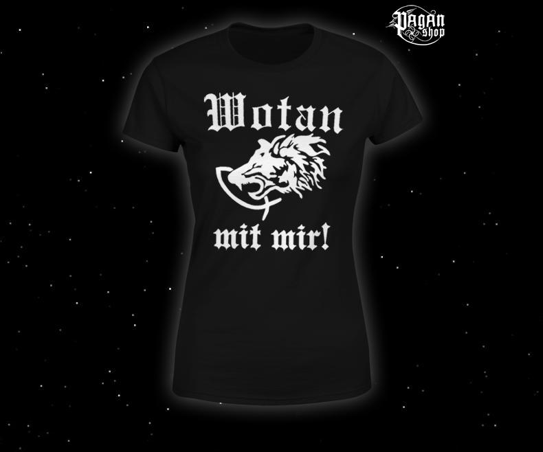 Women's T-shirt Wotan mit mir!