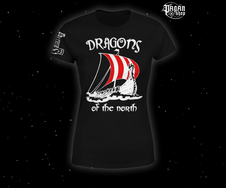 Women's T-shirt Dragons of the north