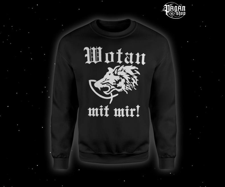 Sweatshirt Wotan mit mir!
