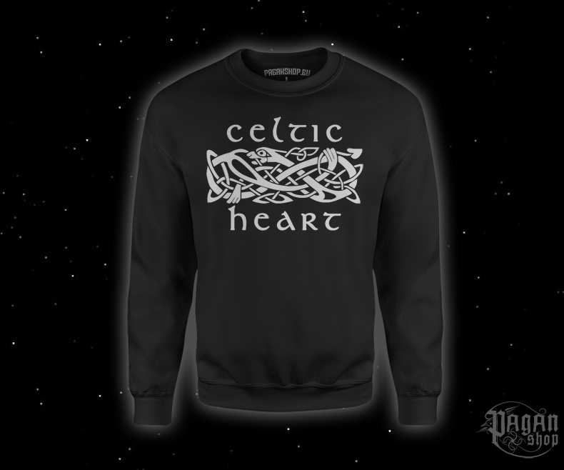 Sweatshirt Celtic heart