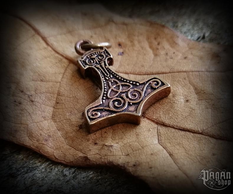 Přívěsek Thorovo kladivo Thaar - bronz