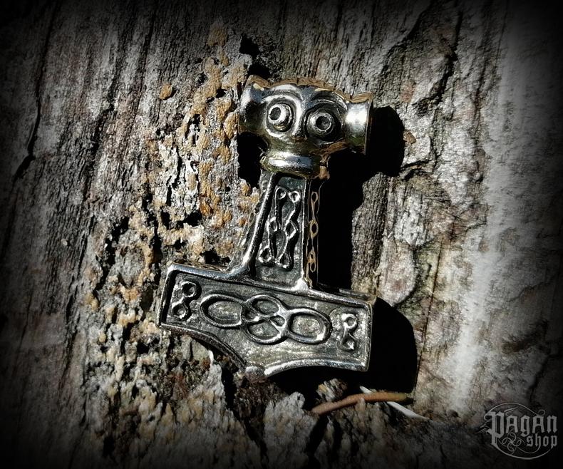 Pendant Thor's hammer Raghnal - bronze