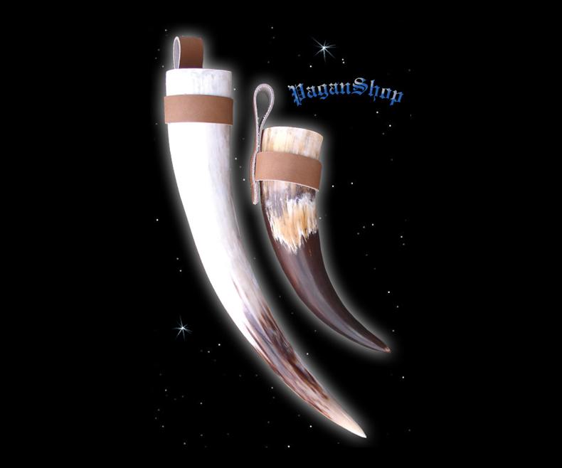 Horn holder brown