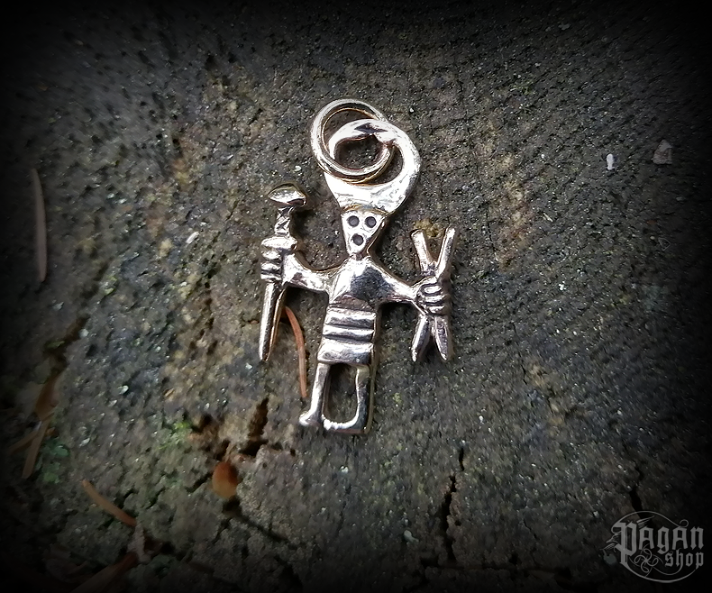 Pendant Odin Wotan - bronze