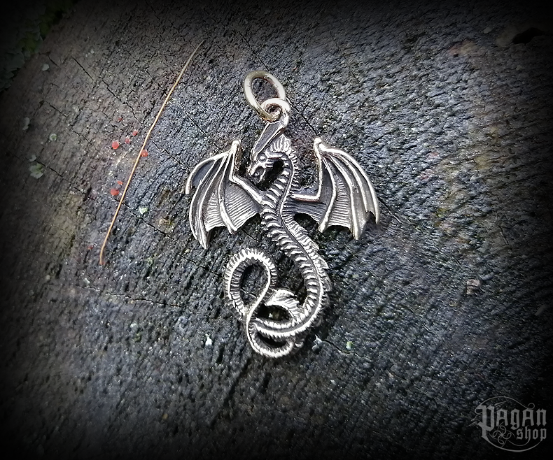 Pendant Dragon Smuga - bronze