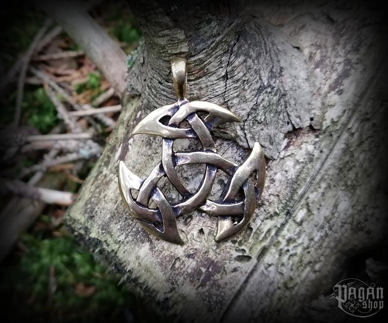 Přívěsek Trojice Arwain - bronz