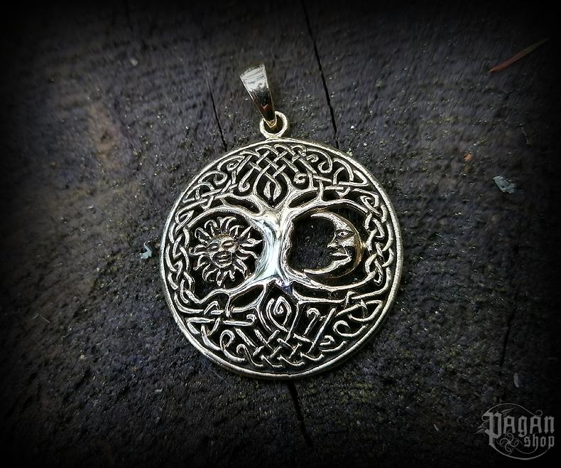 Pendant Tree of life Bara - bronze