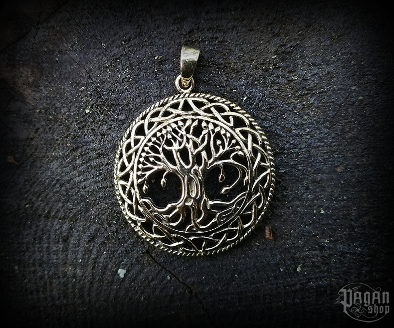 Pendant Tree of life Ulme - bronze