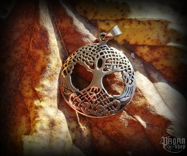 Pendant Tree of life Yggdrasil - bronze