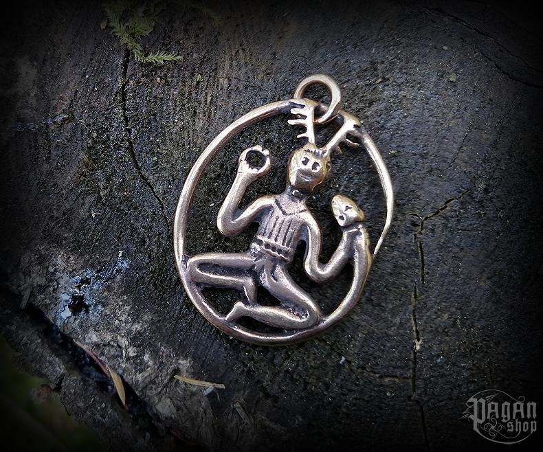 Pendant Cernunnos Gundestrup - bronze