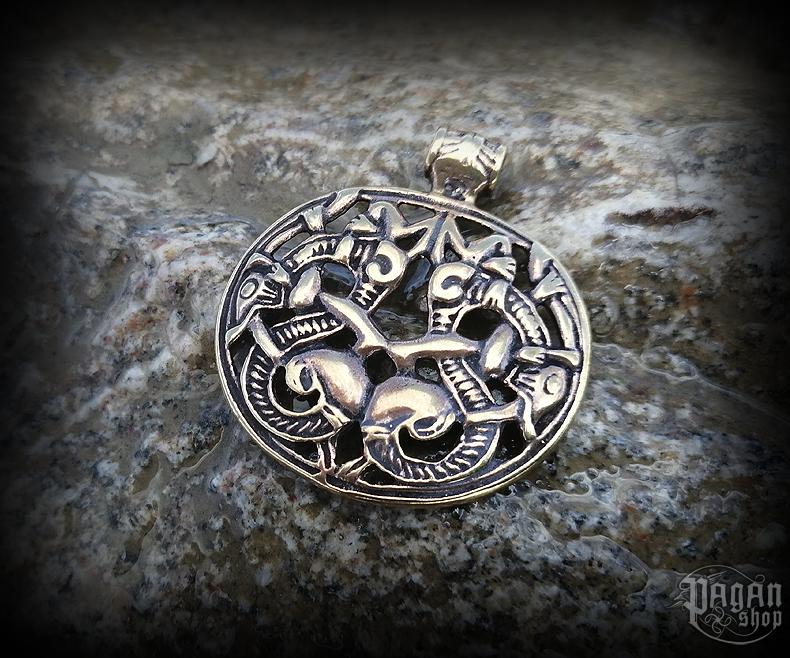 Přívěsek Vikingští draci Naira - bronz