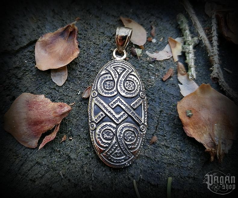 Přívěsek Vikingský amulet Dagaz - bronz