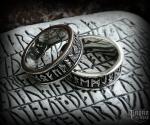 Ring Futhark Rúnar - 316L