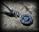 Pendant Valknut Chieftain with king chain - 316L