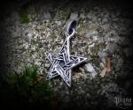 Pendant Pentagram Druidica - 925 sterling silver