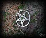 Pendant Pentagram Whyn - bronze