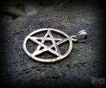 Pendant Pentagram Askja - bronze