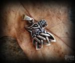 Přívěsek Vlk Fenrir - bronz