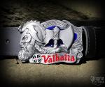 Belt buckle Valhalla