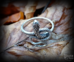 Ring Snake Iduna - 925 sterling silver