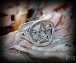 Ring Pentagram Pentas - 925 sterling silver