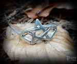 Ring Pentagram Brigant - 925 sterling silver