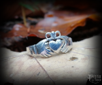 Ring Claddagh Cina - 925 sterling silver
