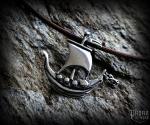 Pendant Viking ship Árkar - 925 sterling silver