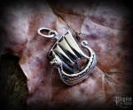 Pendant Viking ship Seehengst - 925 sterling silver