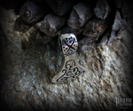 Pendant Viking axe Arin - 925 sterling silver