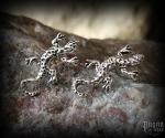Stud earrings Lizard Lurchi - 925 sterling silver