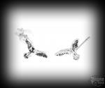 Stud earrings Eagle Talin - 925 sterling silver